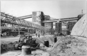 1: Bau der Reichsstickstoffwerke 1915