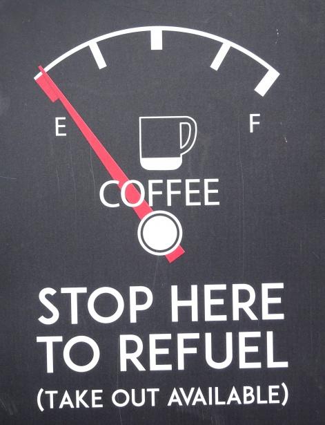 Breaks: Stop here to refuel!