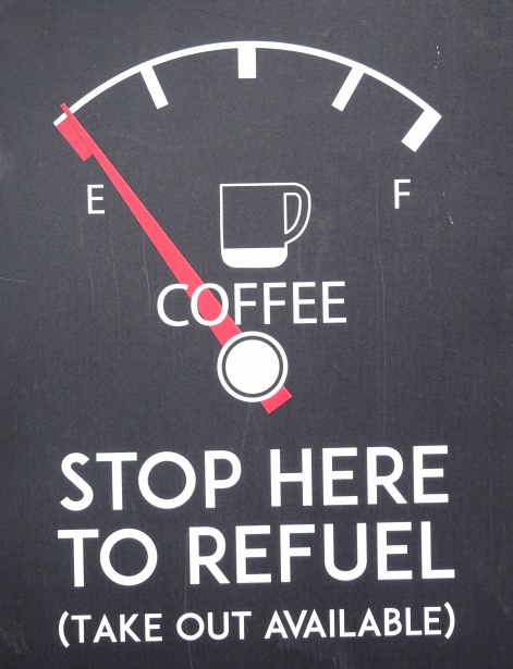 Pausen: Stop here to refuel!