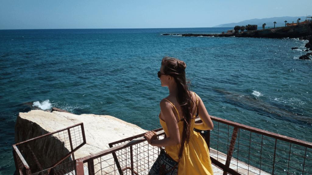 Kreta Urlaub: Ich am Meer