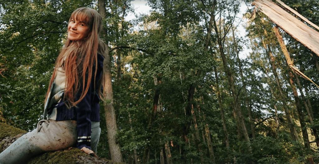 Abitur hin oder her: Ich im Wald